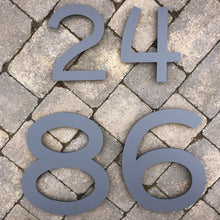 Lataa kuva Galleria-katseluun, Individual House Digit Number Sign Large 30 cm tall - Kreativ Design Ltd