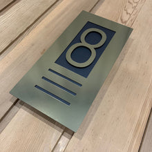 Load image into Gallery viewer, NEW Illuminated LED Backlit 3D Digit House Sign/Bespoke Number Plaque - 2 sizes available - Kreativ Design Ltd