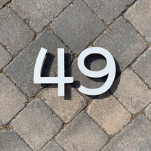Load image into Gallery viewer, Individual House Digit Door Number Sign 15 cm tall - KREATIV DESIGN