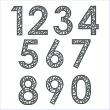 Load image into Gallery viewer, New Design Geometric House Number Digit Sign - Kreativ Design Ltd
