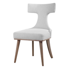Load image into Gallery viewer, Klismos Off-white Accent Chair