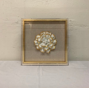 Porcelain Flower Wall Art