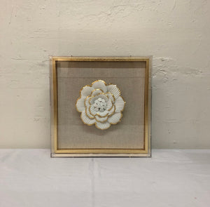 Porcelain Flower Wall Art (II)