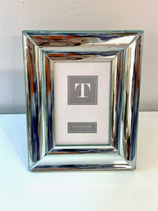 4x6 Mirrored Silver Picture Frame