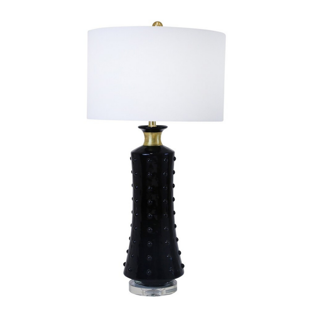 Black Dotted Lamp