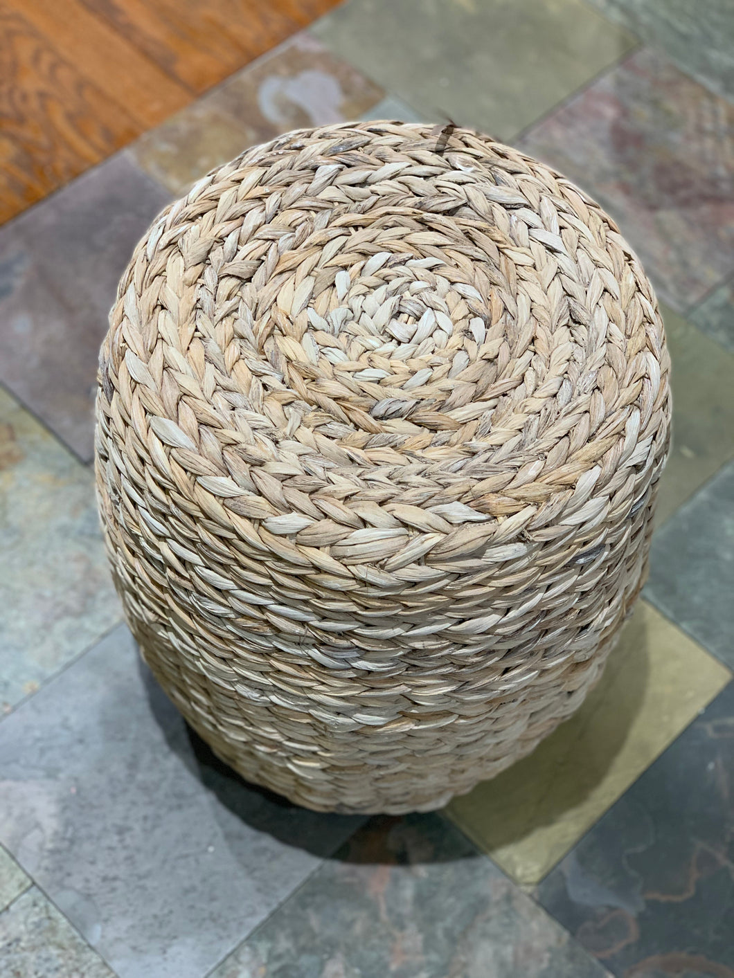 Woven Ottoman / Side Table