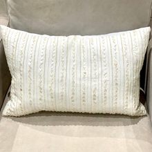 Load image into Gallery viewer, Elizabeth York Beaded Pillow