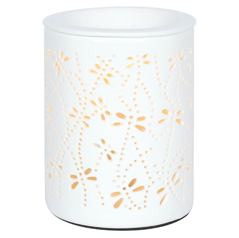 Dragonfly Cut Out Electric Wax Burner / Melter