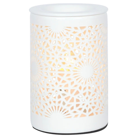 Lace Cut Out Electric Wax Burner / Melter