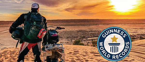 'A Desert Odyssey': A Tale from Adventurer, Author and SURVIVAL Guest Blogger, Benji Brundin