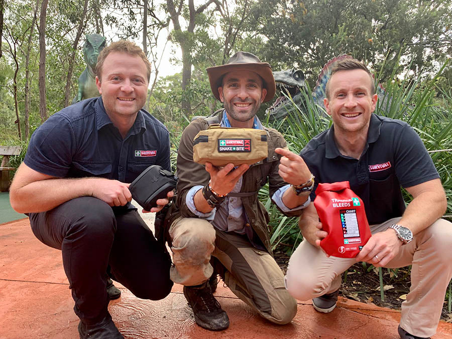 Coyote Peterson with a Snake Bite KIT