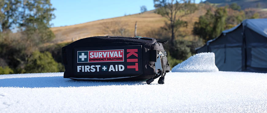 First Aid Kit on Car