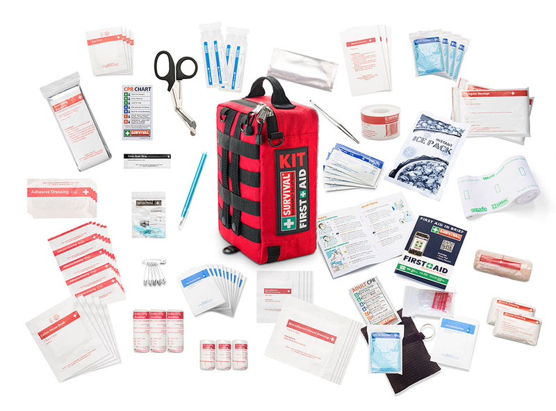 SURVIVAL Home First Aid KIT PLUS