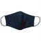 3ply Reusable, Washable Cloth Face Mask, S-M, Black