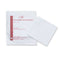 Non-adherent wound dressing, sterile, 10cm x 10cm