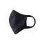 Black Sports Face Mask - Reusable, Antibacterial