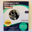 3ply Reusable, Washable Cloth Face Mask, Marble