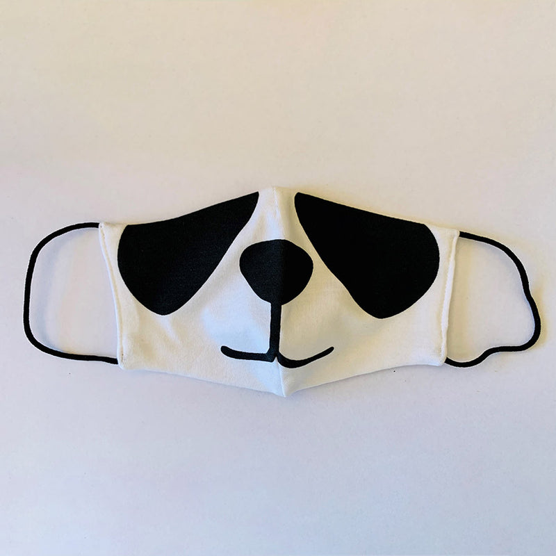 3ply Reusable, Washable Cloth Face Mask, Kids Panda