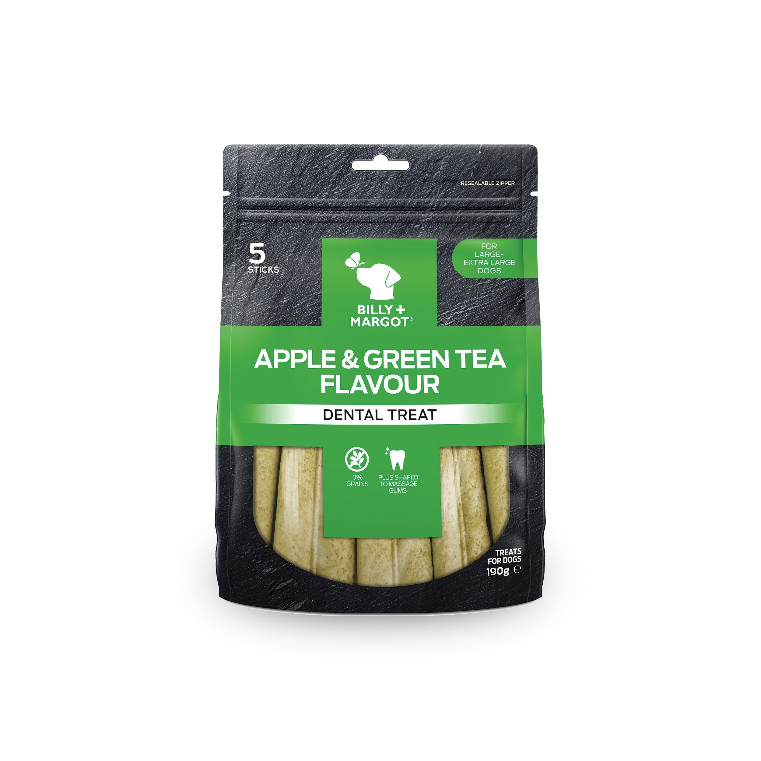 Billy + Margot Apple & Green Tea Dental Treats