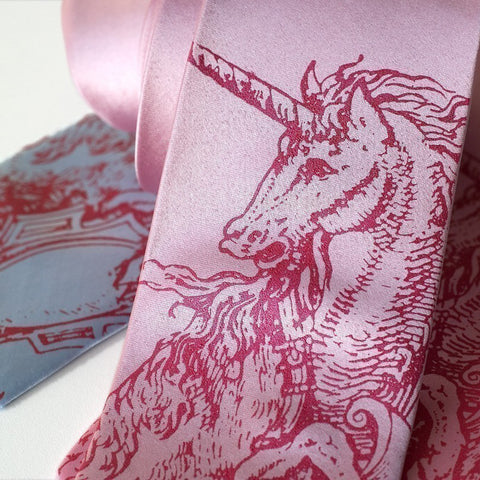 Silk Unicorn Tie (other colors available)