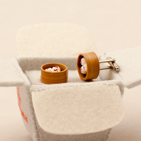 Dimsum Cufflinks (other styles available)