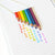Rainbow Pencil Necklace