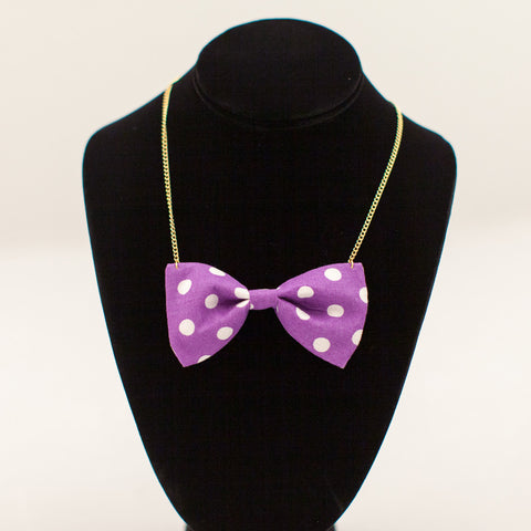 Bow-Tie Necklace (other colors available)