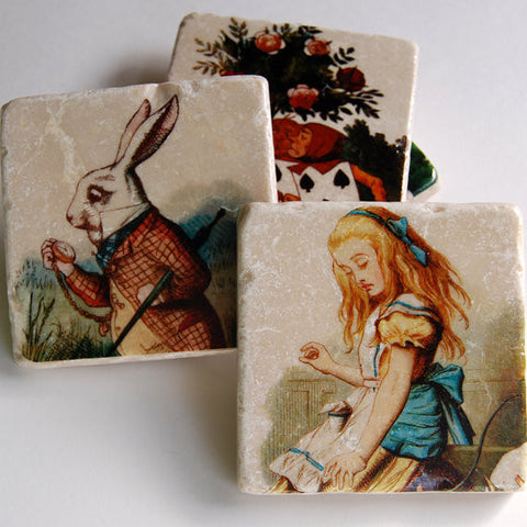 Alice in Wonderland Coasters