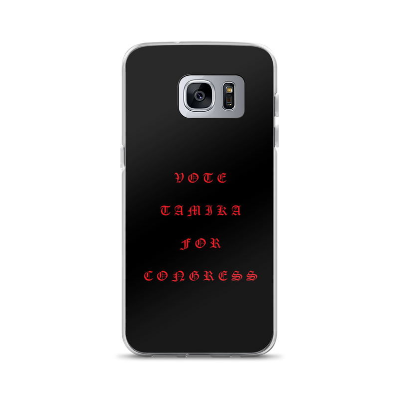 Tamika Old English Red Samsung Case