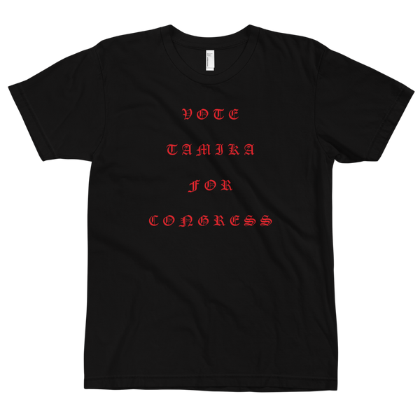 Tamika Old English Red T-Shirt