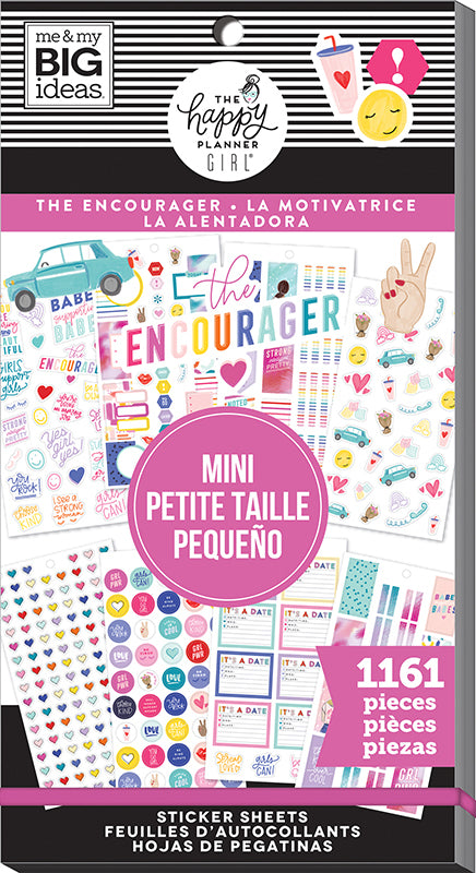 Happy Planner Sticker Book - The Encourager
