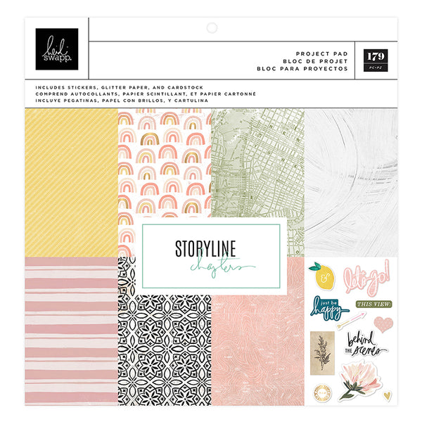 "Storyline Chapters 12x12"" Project Pad"