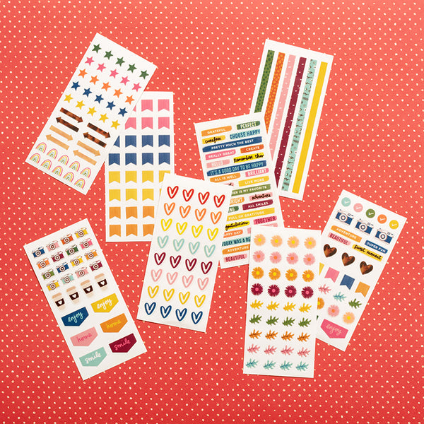 Late Afternoon - Mini Sticker Book