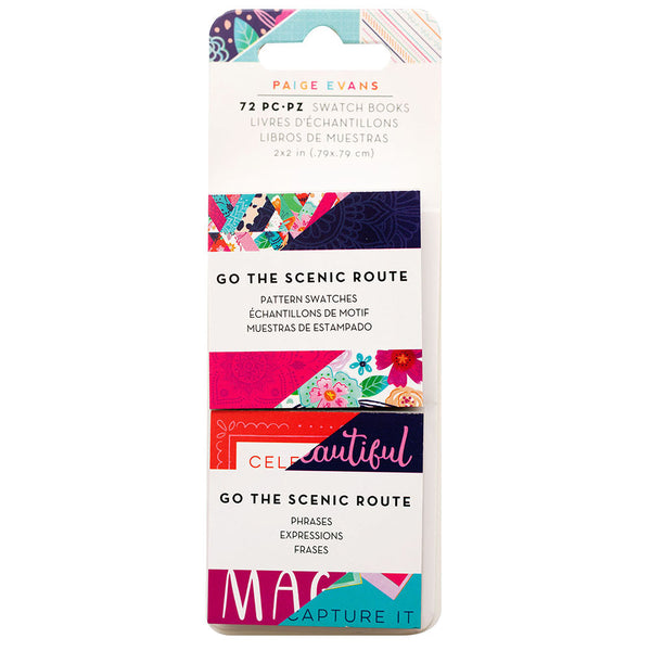 "Go The Scenic Route Swatch 2x2"" Pad"