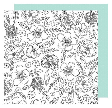 "Lovely Day Color Me Pretty 12x12""Paper"
