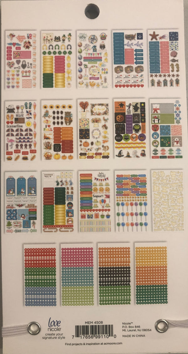 Planner Sticker Book - The Seasons