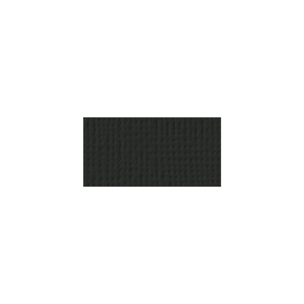 "Solid Black Textured 12x12""Cardstock"