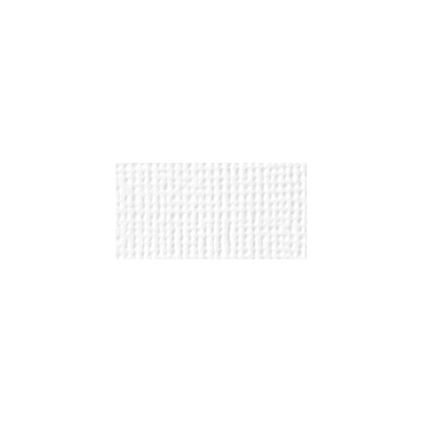 "Solid White Textured 12x12""Cardstock"