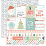 "Merry & Bright - Oh What Fun 12x12""Paper"