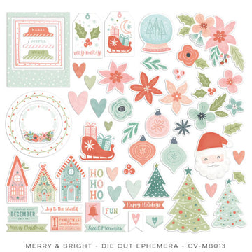 Merry & Bright - Diecut Ephemera