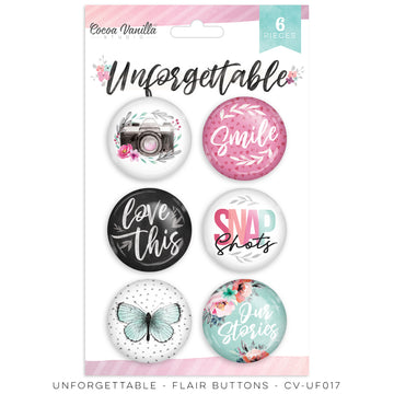 Unforgettable Flair Buttons
