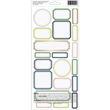 Emerson Lane Cardstock Stickers 6x12""