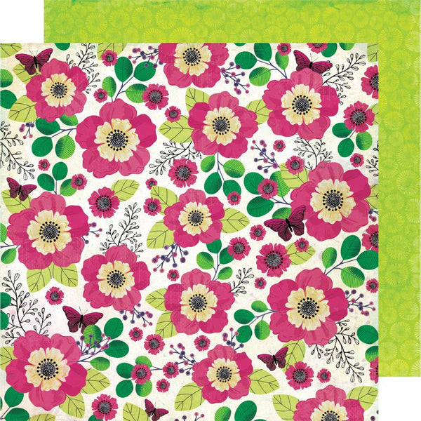 Kaleidoscope Flower Shop 12x12 Paper