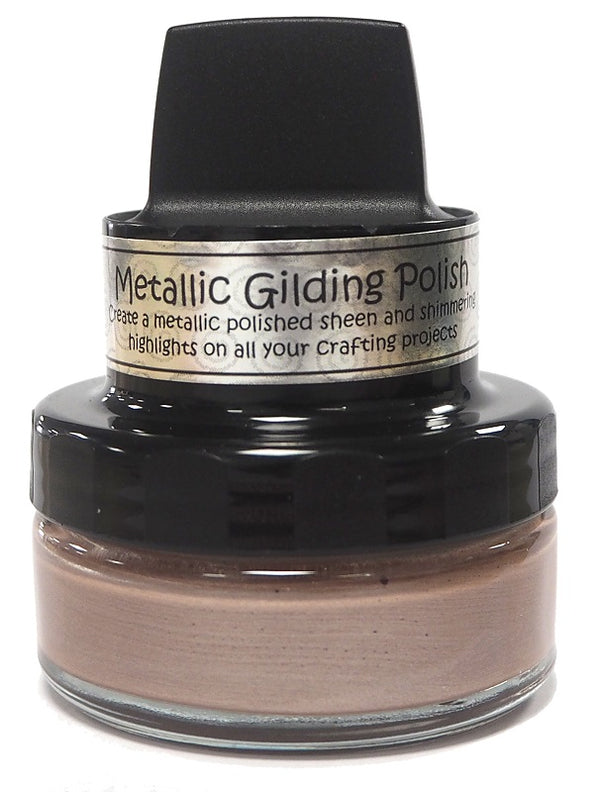 Silver Hessian Metallic Gilding Polish