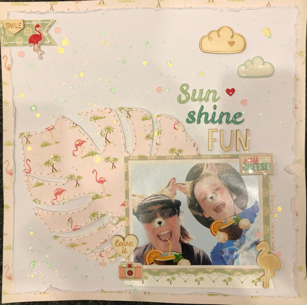 Sun Shine Fun Scrapbook Kit