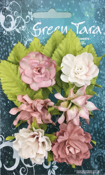 Tea Roses Flowers - Beige