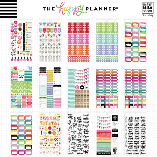 Happy Planner Sticker Book - Planner Basics