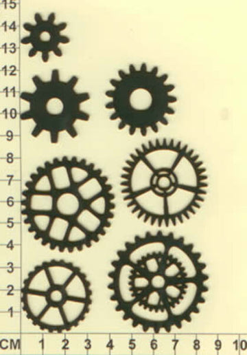 Gears 01 - Chipboard