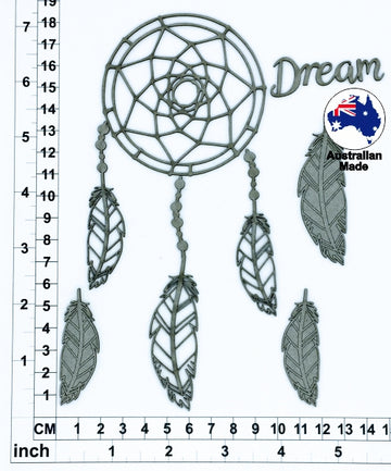 Dreamcatcher 01 - Chipboard