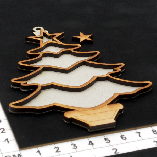 Christmas Tree 05- Chipboard & MDF